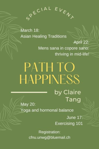 Special Events Series on Wellness
